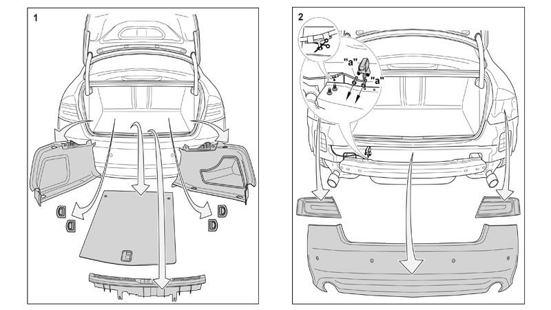 Montaż Haka Holowniczego Audi A4 Allroad